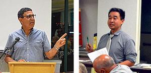 Apelian, Choe duel over term limits 1