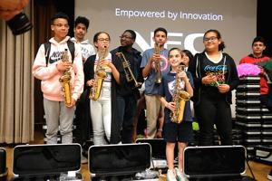The gift of music for MS 202 2