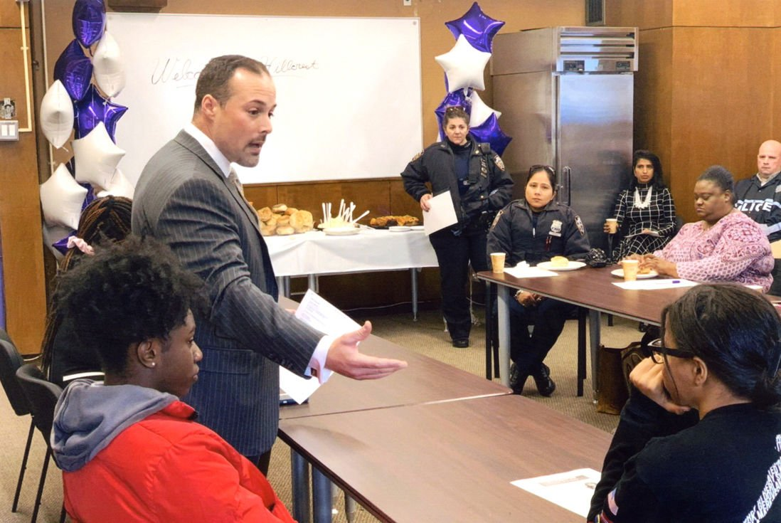 New Hillcrest High School principal meets the community 2