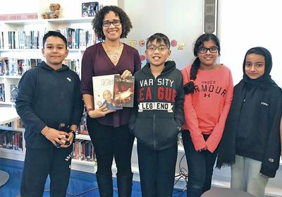 Author Inspires Young Readers at MS 202 1