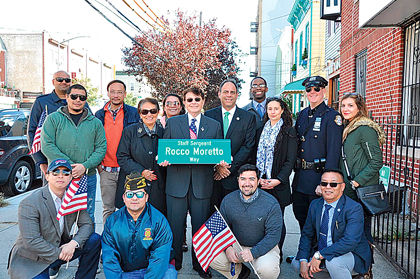 Astoria co-naming honors WWII hero 1