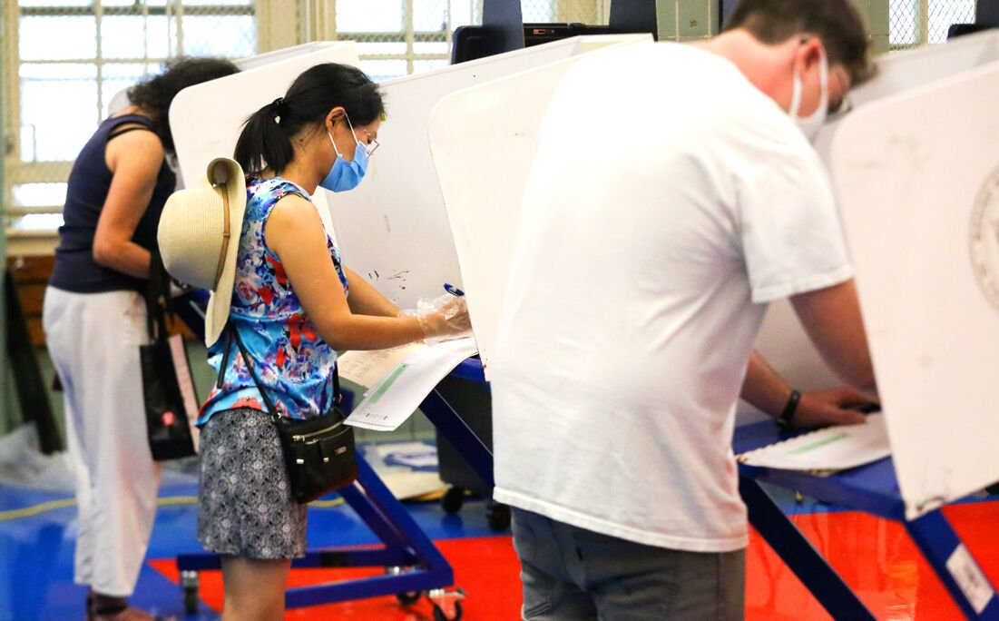 Early voting sites and dates in the borough 1