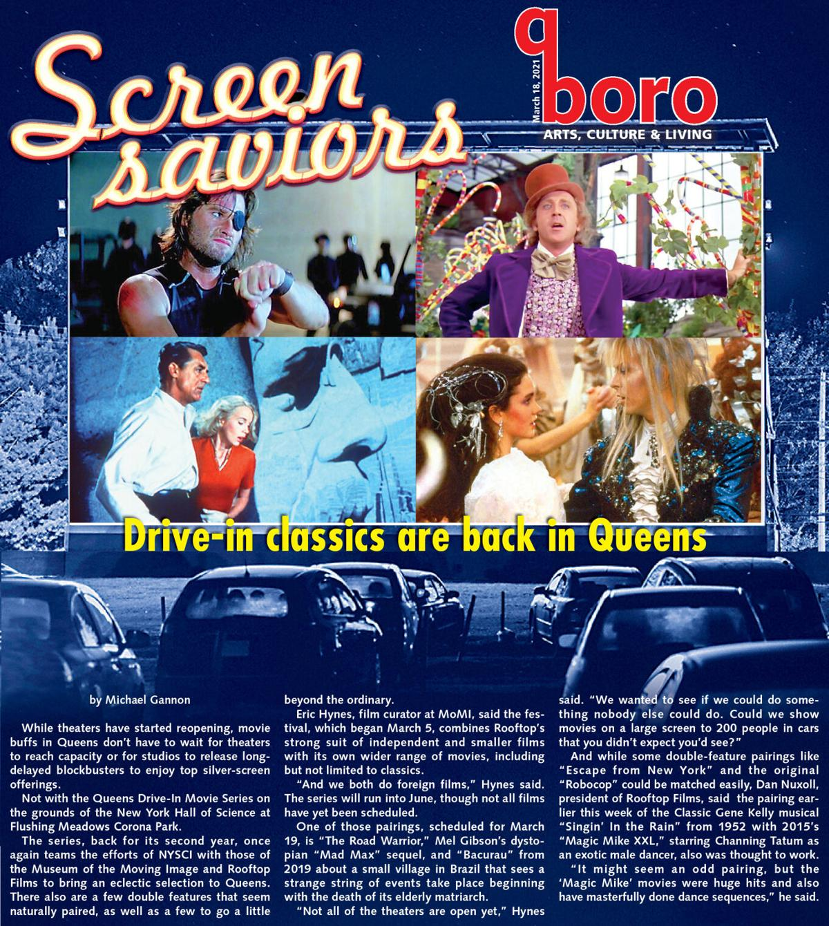 Drive-in movies are back — and Queens has 'em 1