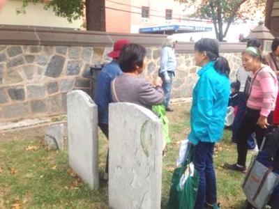 Disagreement over tombstone damage 1