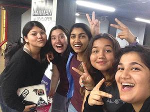 Queens girls are hackathon winners 1