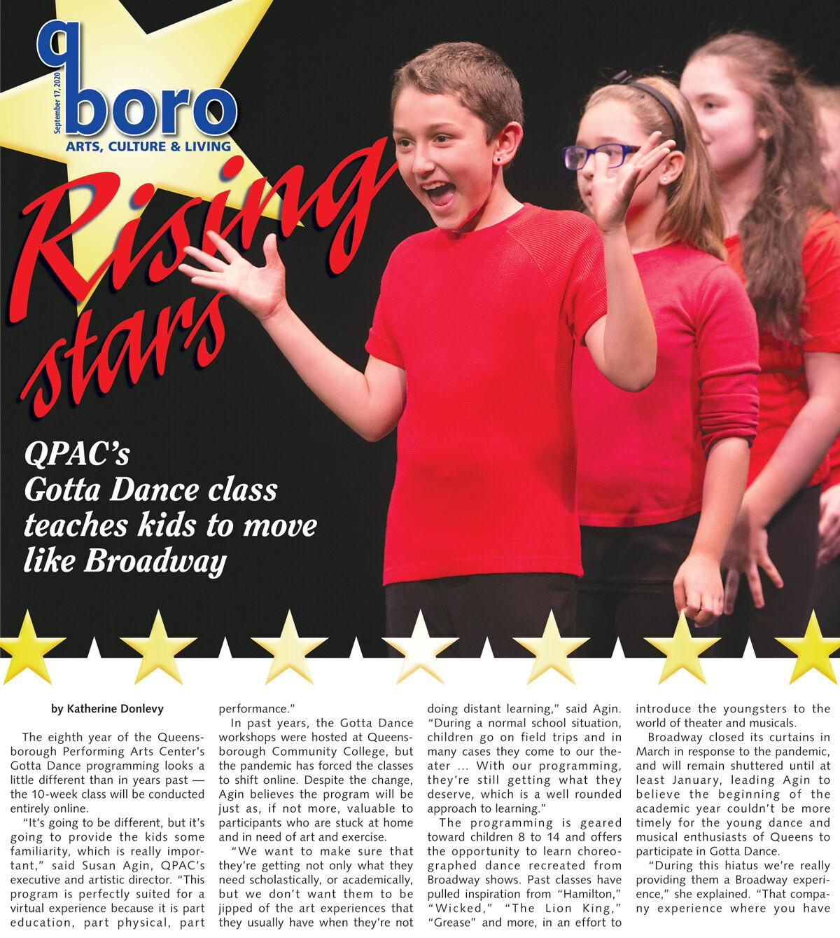 QPAC provides the Broadway melody for kids 1