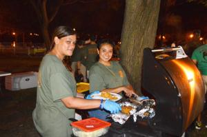 Camping in the park with the NYPD 8