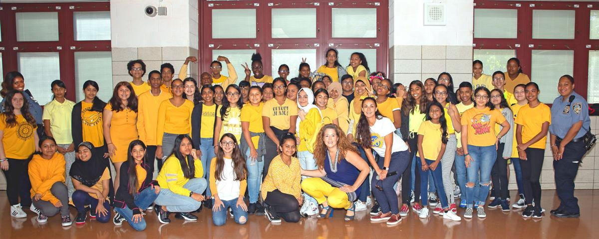 MS 202 Honors Childhood Cancer Awareness Month 1