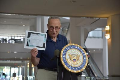 Schumer: Feds must stop fake vax cards