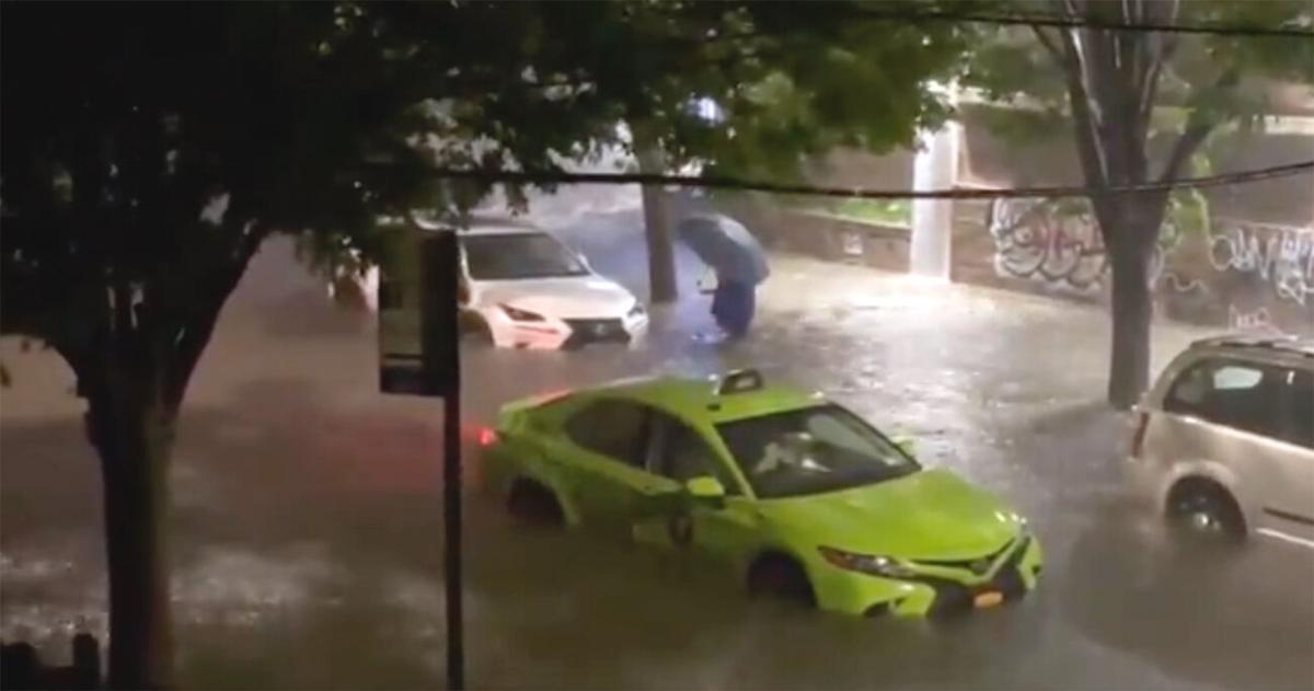 Vignettes from the storm, as Queens gets flooded out 2
