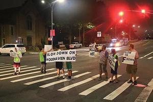 Honk, honk — rally targets speeders 1