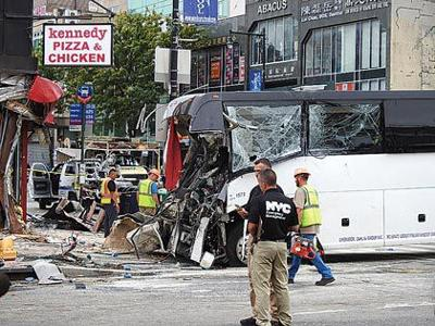 Thermos may have caused bus crash 1