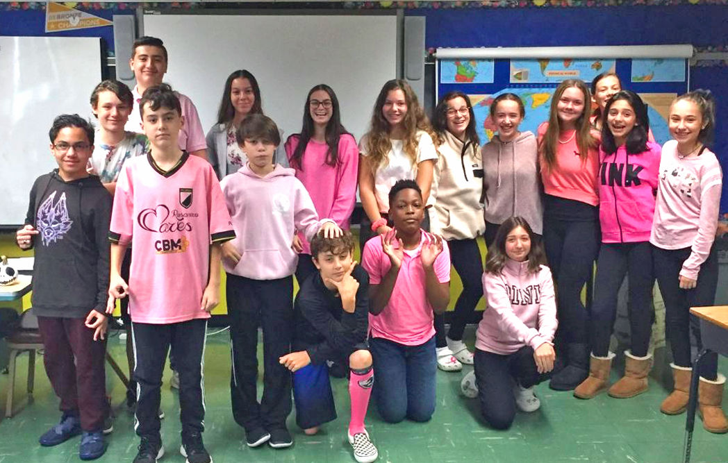Our Lady of Grace Goes Pink for Breast Cancer 1