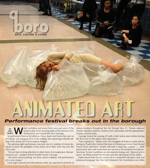 Performance art festival returns to the borough 1