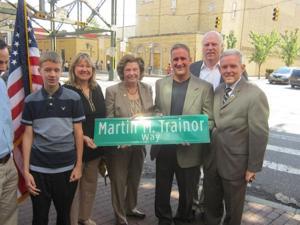 Martin Trainor honored 1