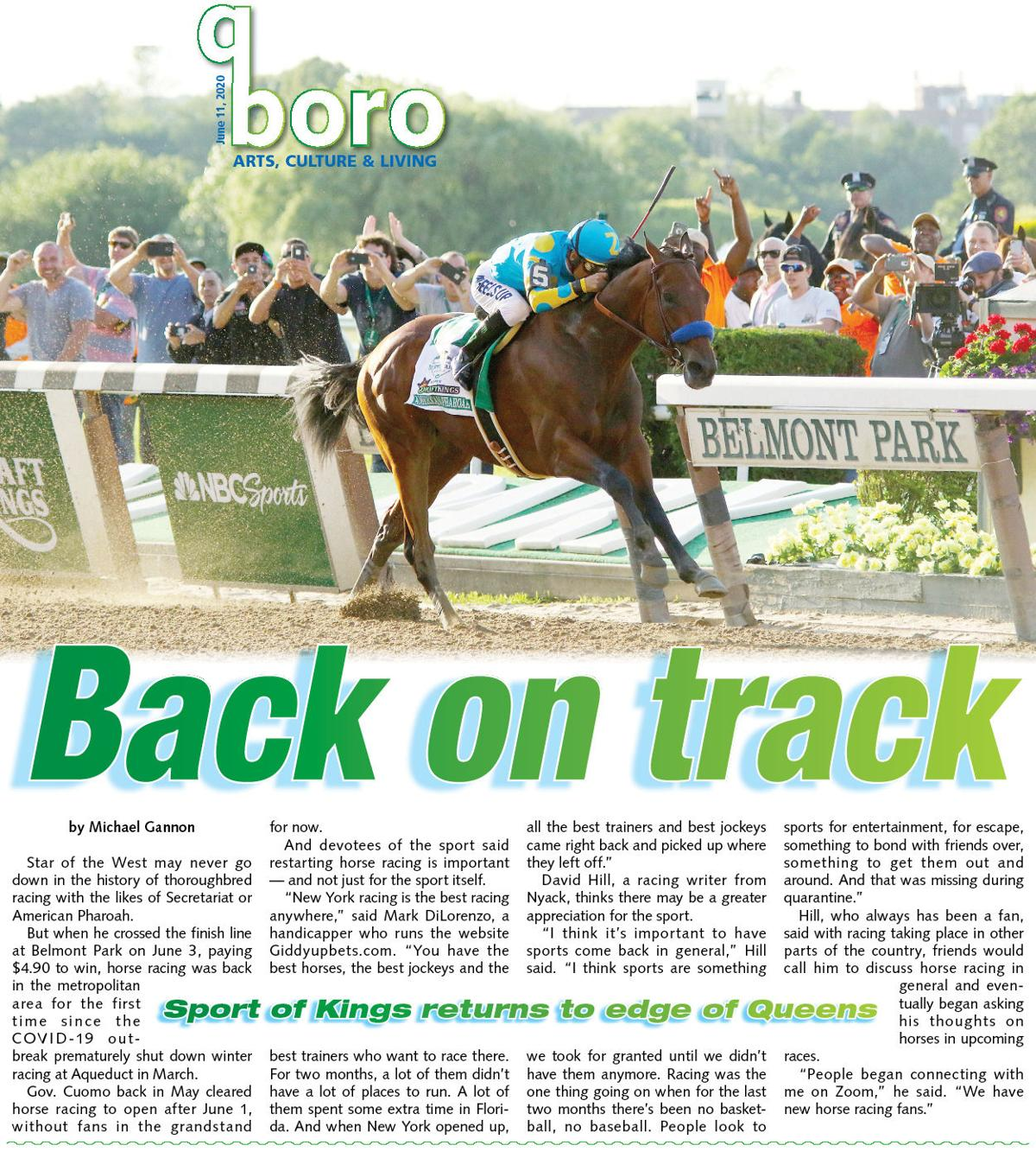 Is Belmont's comeback a boost? You bet! 1