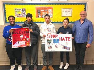 Forest Hills High students fight hate 1