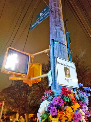 Tribute unveiled for Madeline Sershen 1