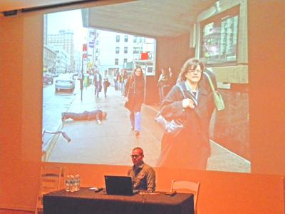 Performance artists come to Queens for forum 1