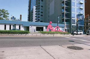 Pink art sculpture accepted — DCLA 1
