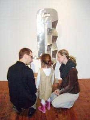 Art a family affair at The Noguchi Museum