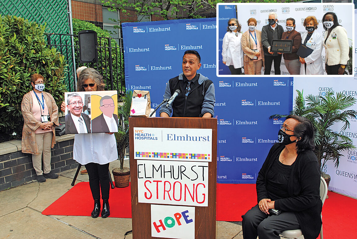 Queens film festival lauds hospital heroes 1