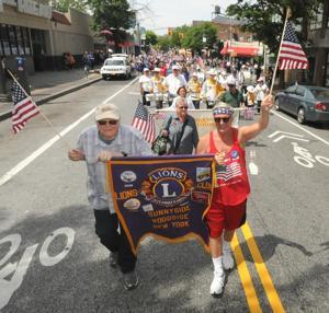 Sunnyside flag parade 4
