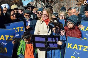 Katz enters the fray to be Queens DA 1