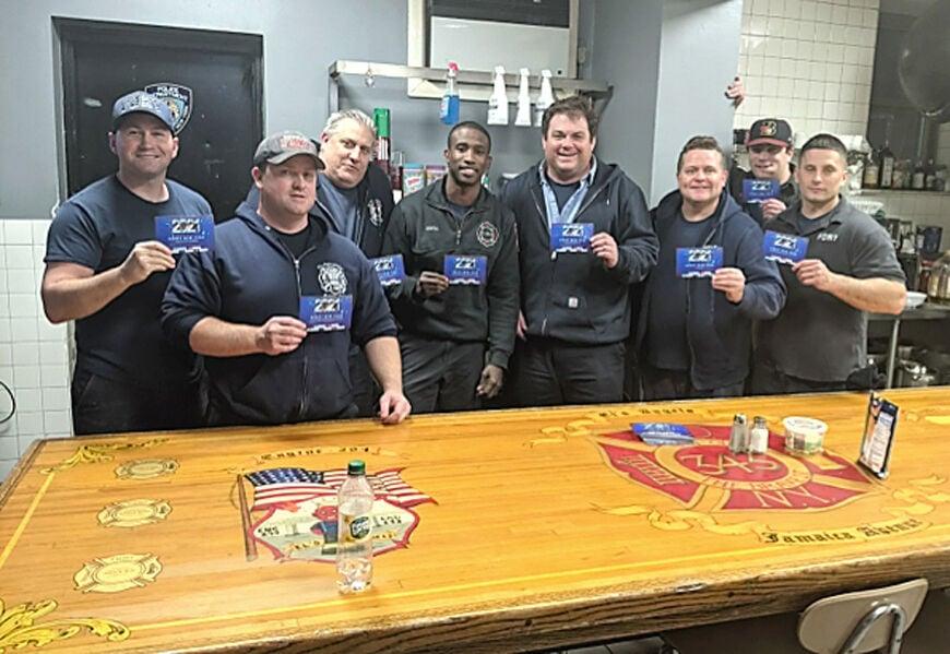 Edison's SkillsUSA kids visit firehouse to say thanks 1