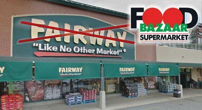 Fairway's out, Food Bazaar may be in 1