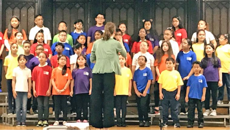 PS 90 Students Join Young People's Chorus 1