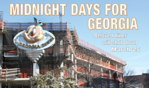 <p>As a massive mixed-use development goes up on its parking lot, the Georgia Diner will be closing its doors for good on March 25 after 40 years in business. The property the eatery sits on was sold for $14 million last month to the same developer building the high-rise, while a demolition permit was filed last week.</p>