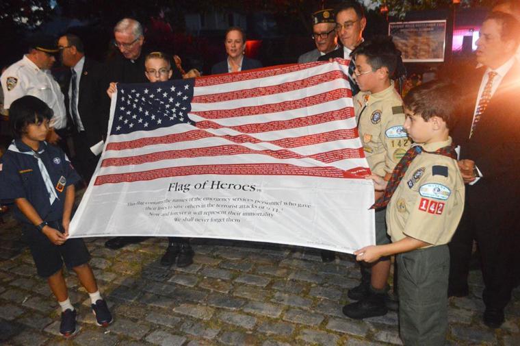 Bayside Hills commemorates 9/11 4