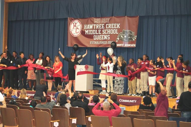 Newspaper Page 2 >> A good first year for Hawtree Creek MS - Queens Chronicle