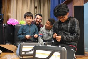 The gift of music for MS 202 1
