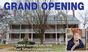 <p>The Center for the Women of New York, headed by Ann Jawin, inset, will host a ribbon-cutting ceremony Dec. 8 at its new landmark location, 16 years in the making. The building, however, still needs some repairs.</p><p></p>