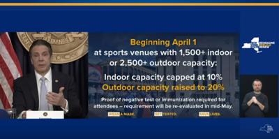 Citi Field will have 20 percent capacity