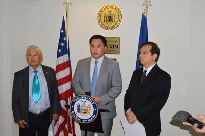 Kim honors Han Tak Lee with legislation 1