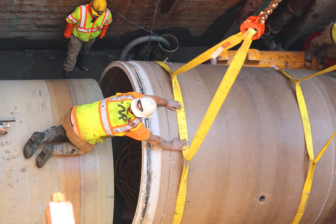 Monster job underway deep below Maspeth 2