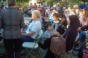 Woodside commemorates 9/11 victims