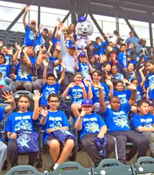 What a Home Run for PS 174 Students on Education Day 1