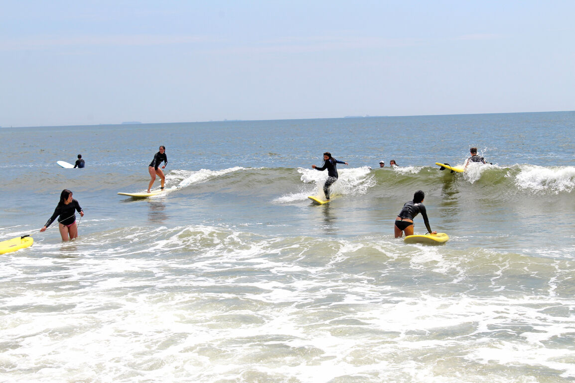 From 'board room' to shore, Rockaway is surf city 2