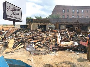 Demolition of the Shalimar 1