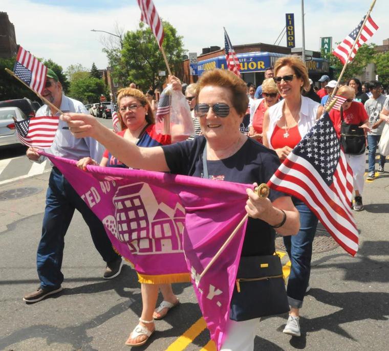 Sunnyside flag parade 5