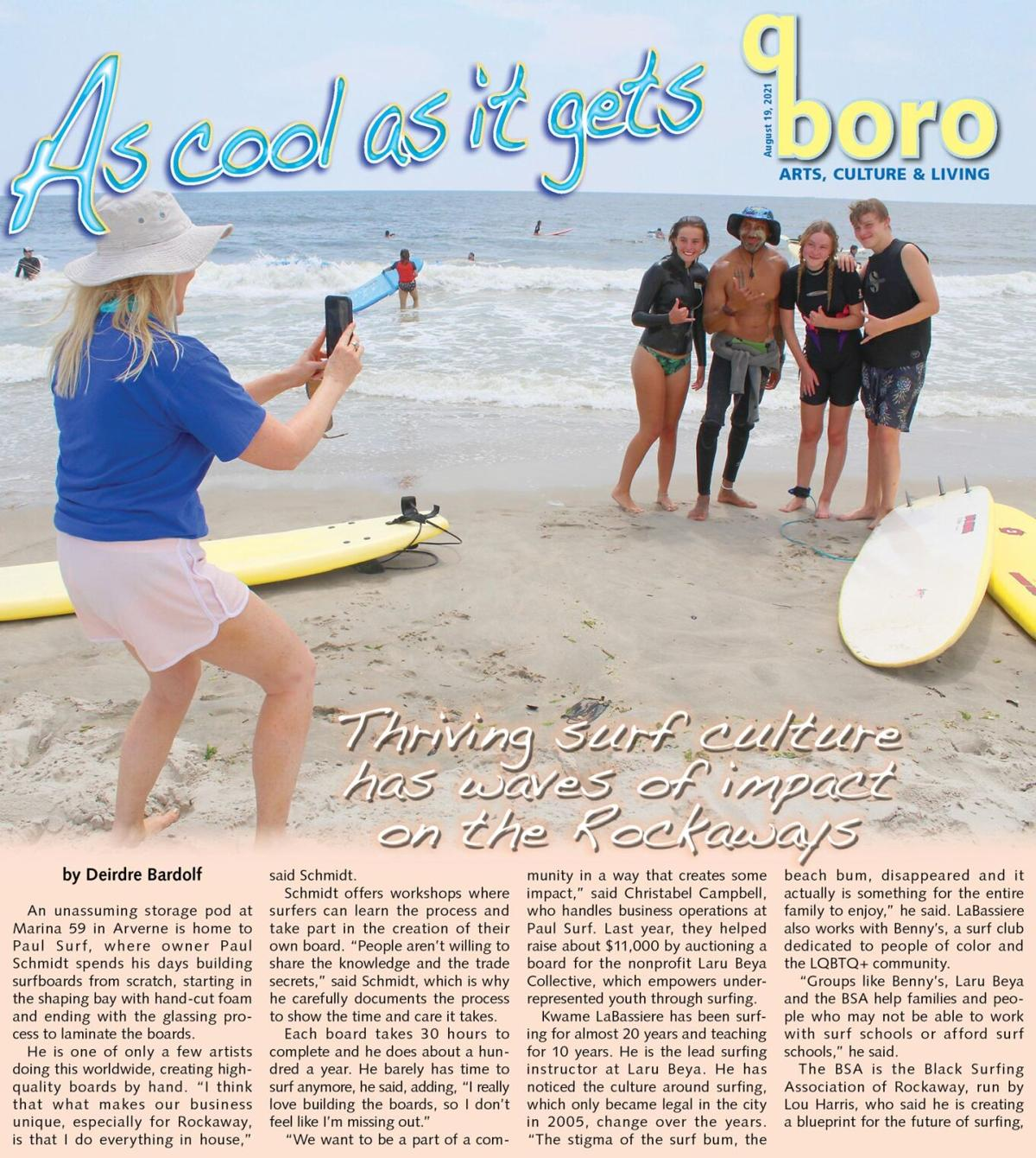 From 'board room' to shore, Rockaway is surf city 1