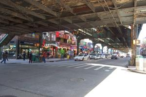 <p>Roosevelt Avenue is a main commercial corridor included in the plan to expand the 82nd Street Partnership's BID to a larger district ending at 104th Street in Corona. Those opposed still maintain that a BID would harm, not help, small businesses.</p>