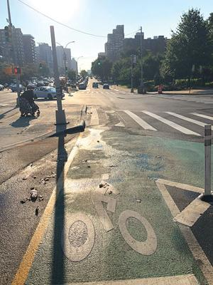 DOT says no updated timeline for bike lane 1