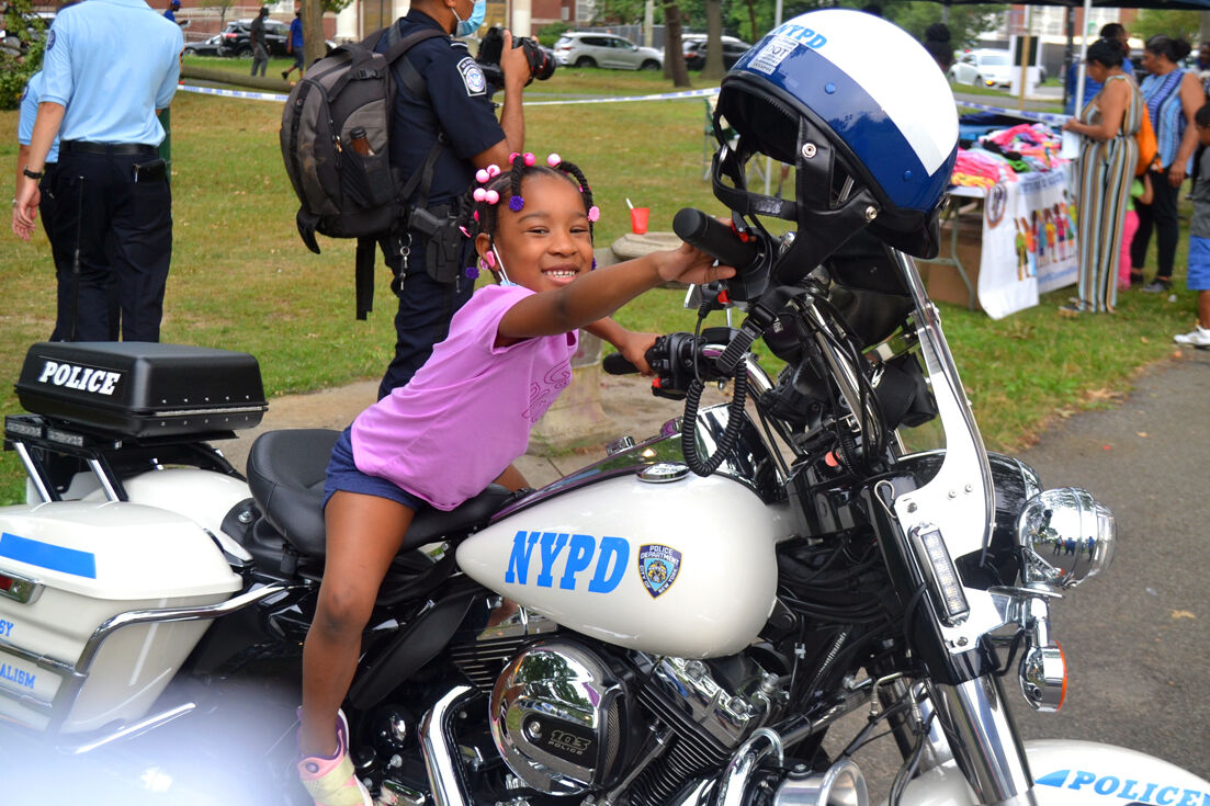 Cops & Kids camp out in Baisley Park 2