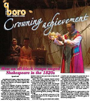 Shakespeare so white? One troupe said nay to that. 3