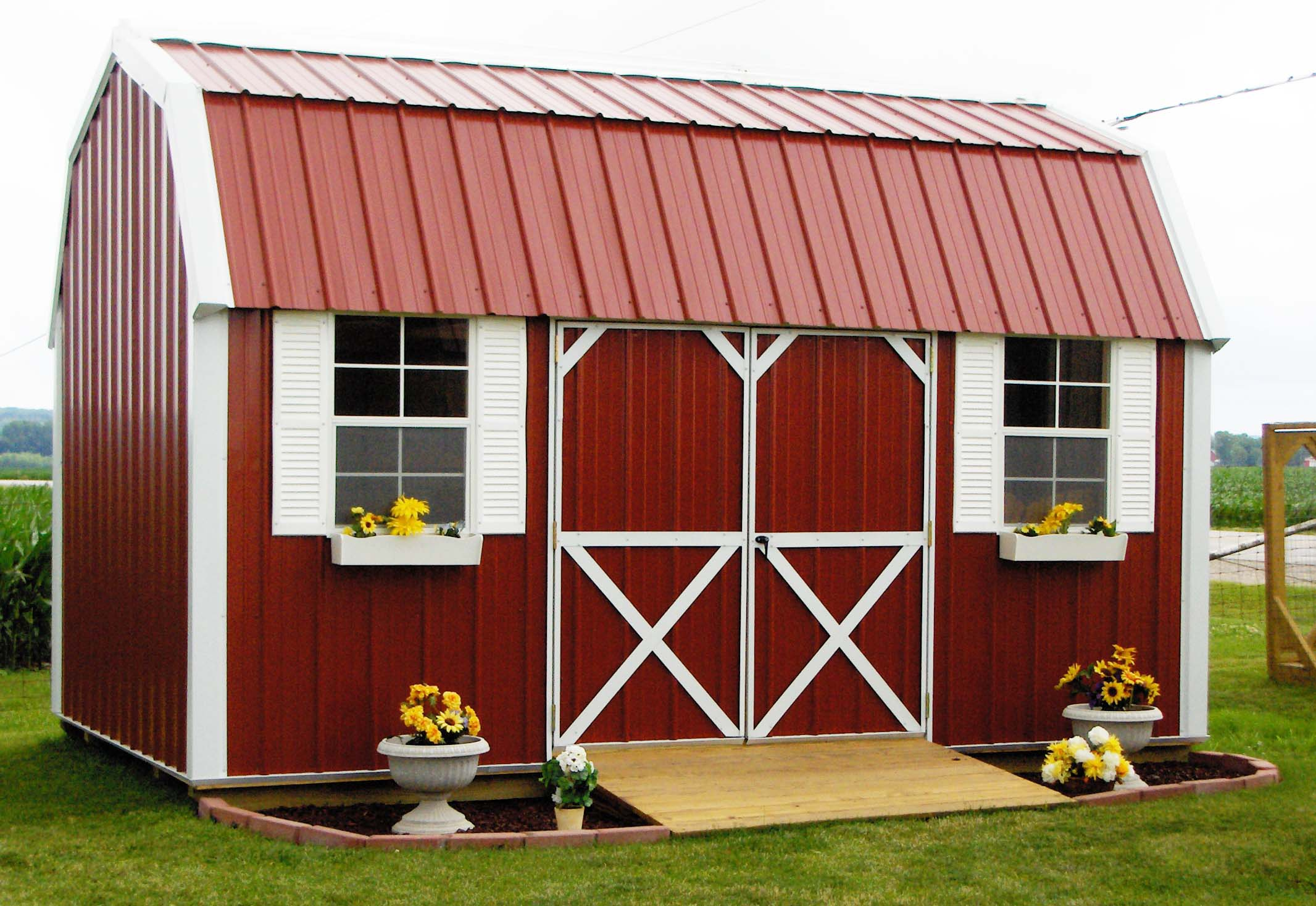 Pre Built Sheds In Illinois Post Frame Buildings Peoria & Amish Built Garages Illinois.Storage Sheds And Garages Pre Built ...